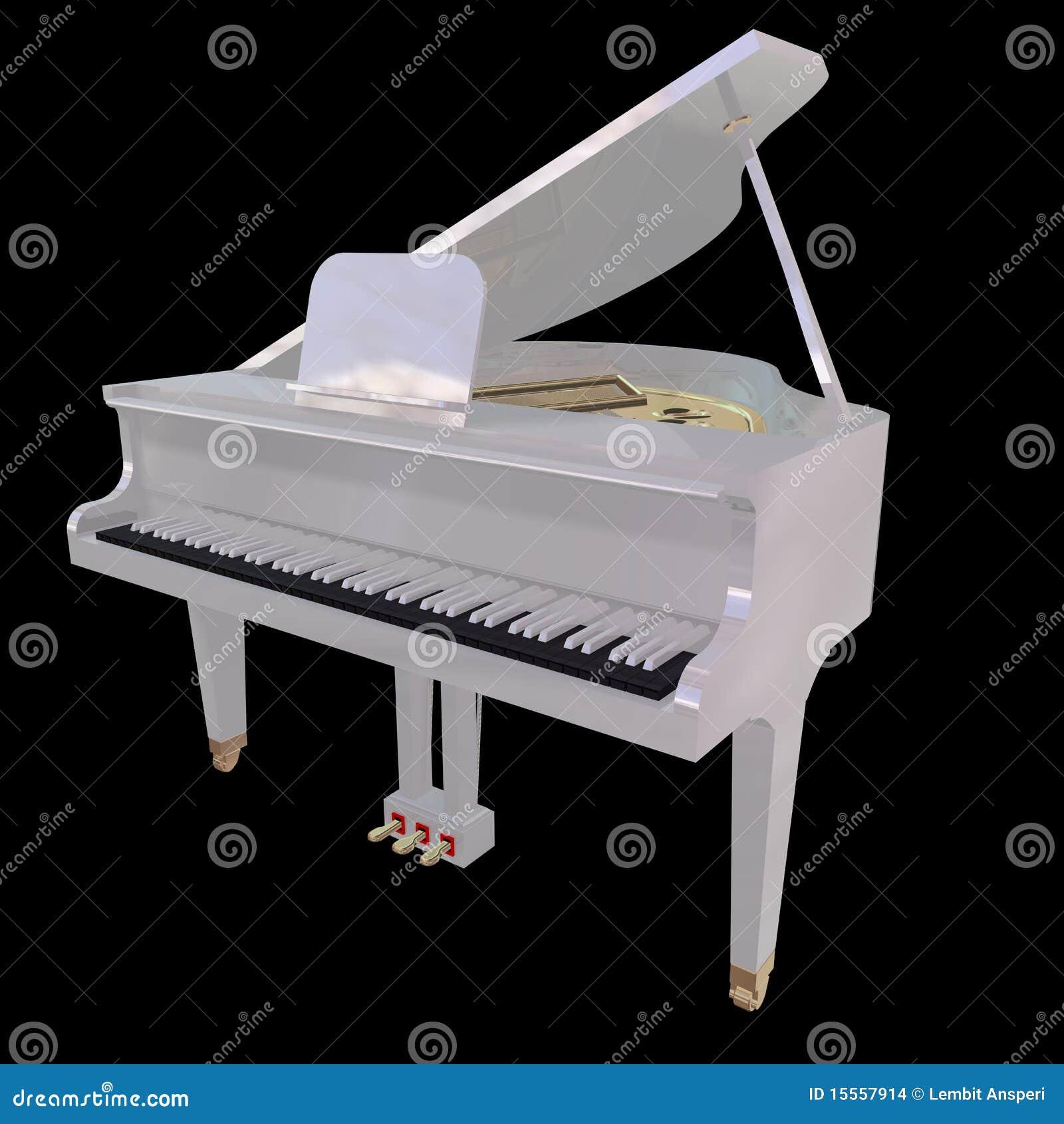 gand klavier getrennt auf einem schwarzen hintergrund stockbilder bild 15557914. Black Bedroom Furniture Sets. Home Design Ideas