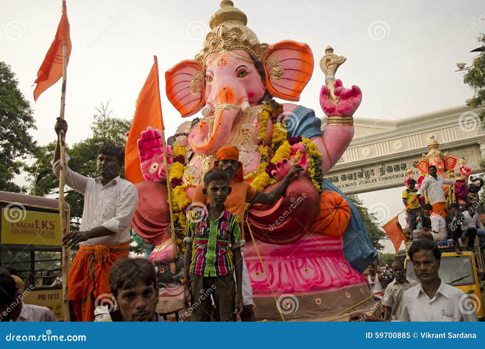 Ganesh Chaturthi Editorial Image Image 59700885
