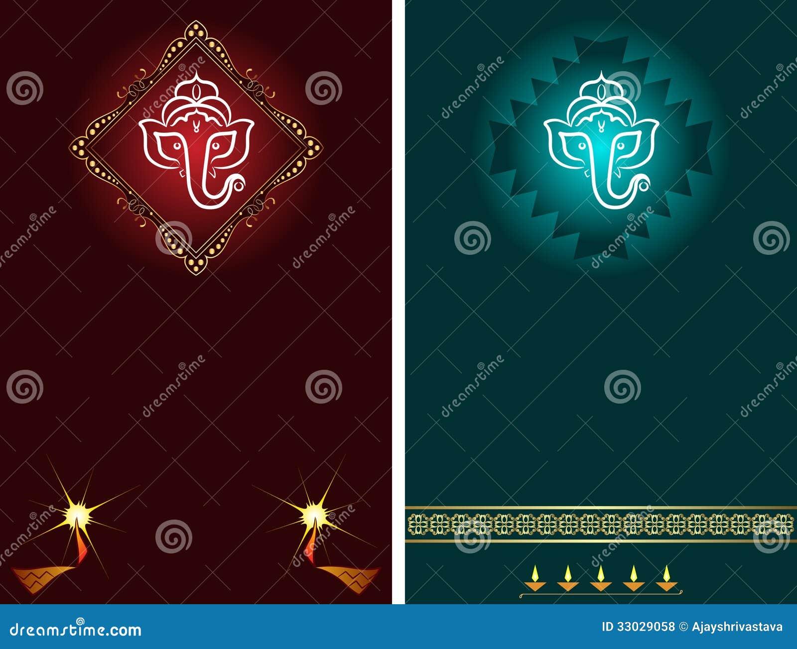 Ganesha diwali greeting stock illustration illustration of icon download comp m4hsunfo