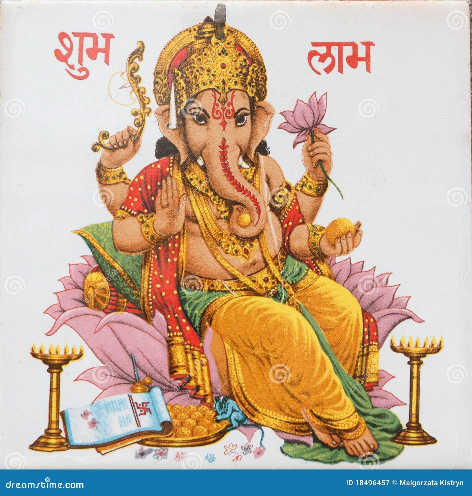 Ganesha sitting on lotus flower india stock image image of bombay download ganesha sitting on lotus flower india stock image image of bombay illustration mightylinksfo
