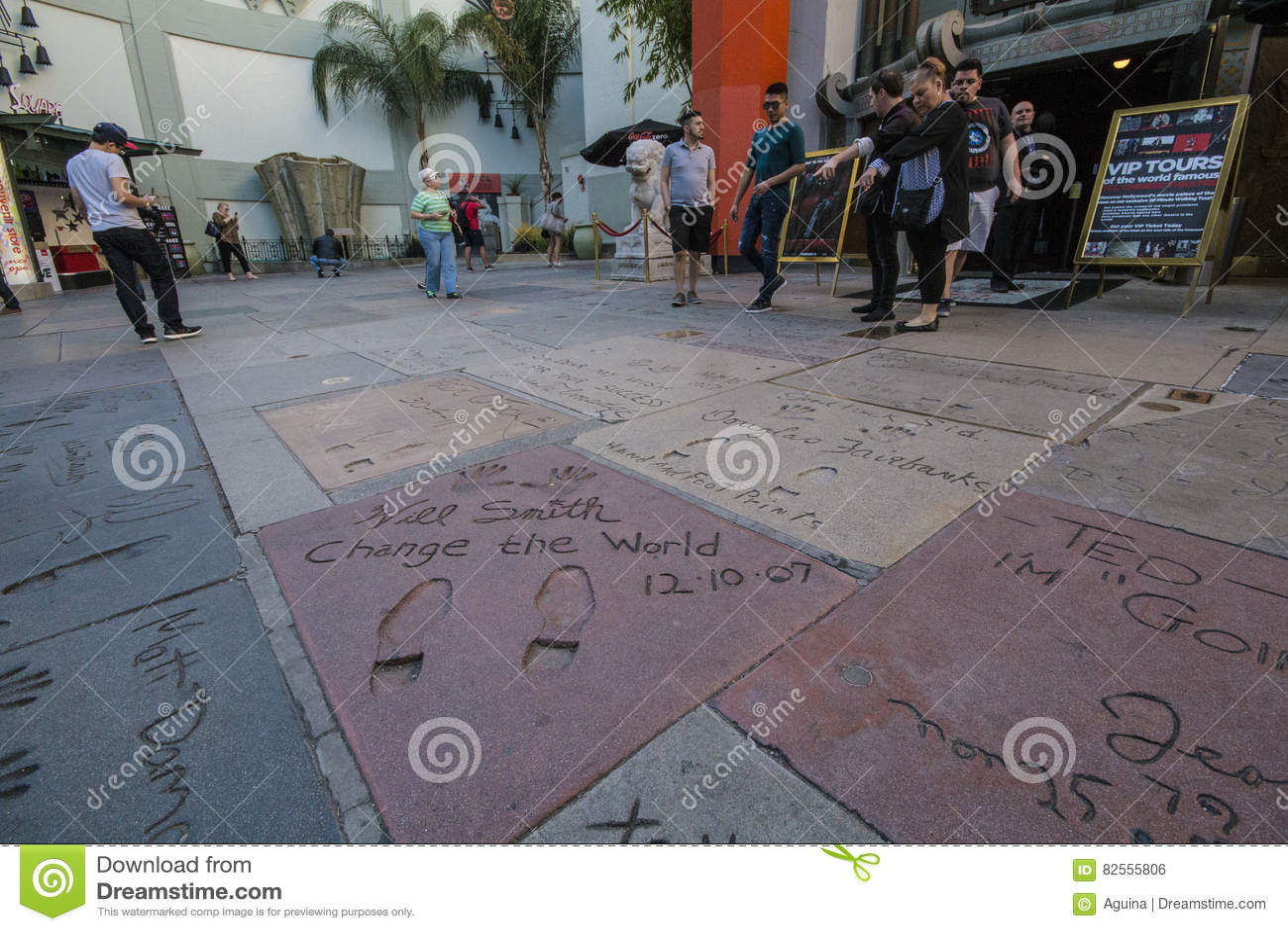 Gang van Bekendheid - Chinees Theater - Los Angeles