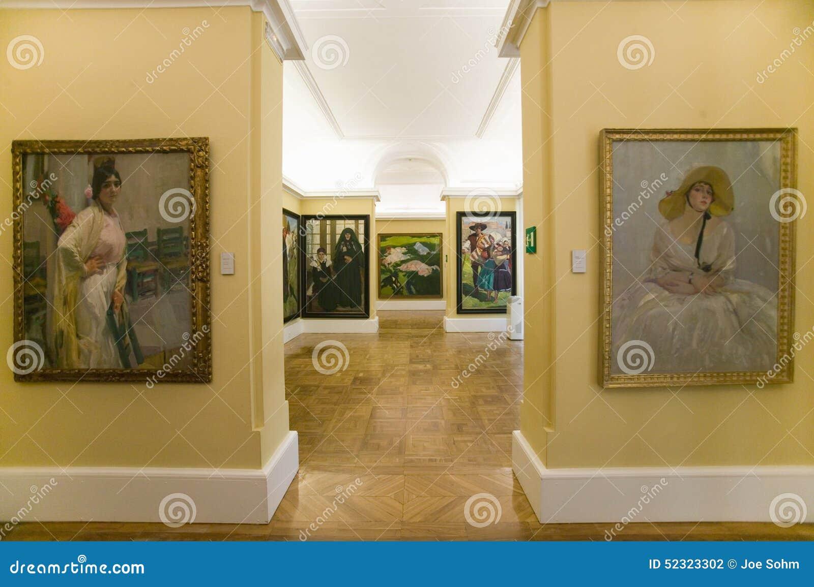 Gang van schilderijen door joaquï ½ n sorolla y bastida