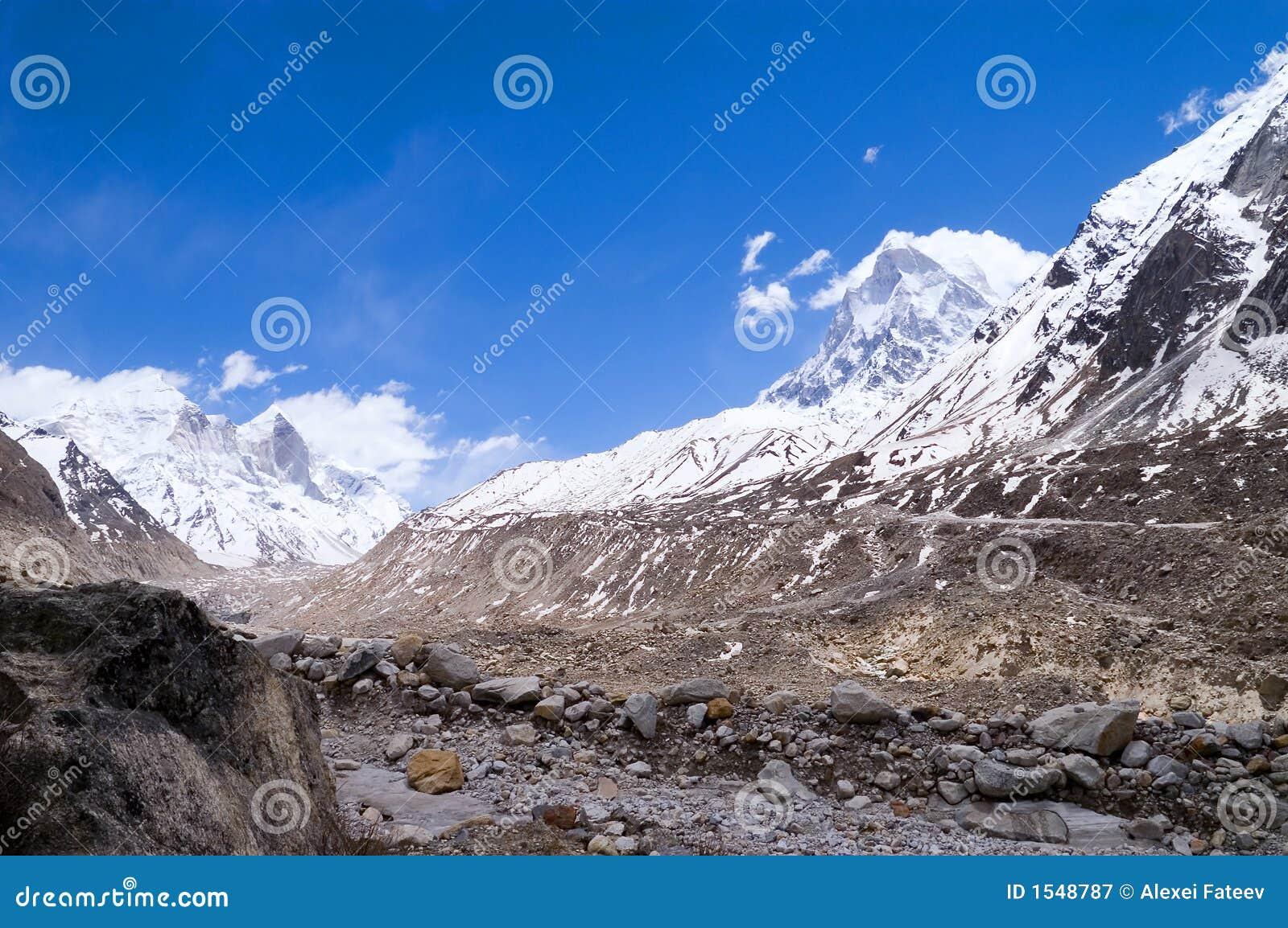 Ganga himalajów źródła