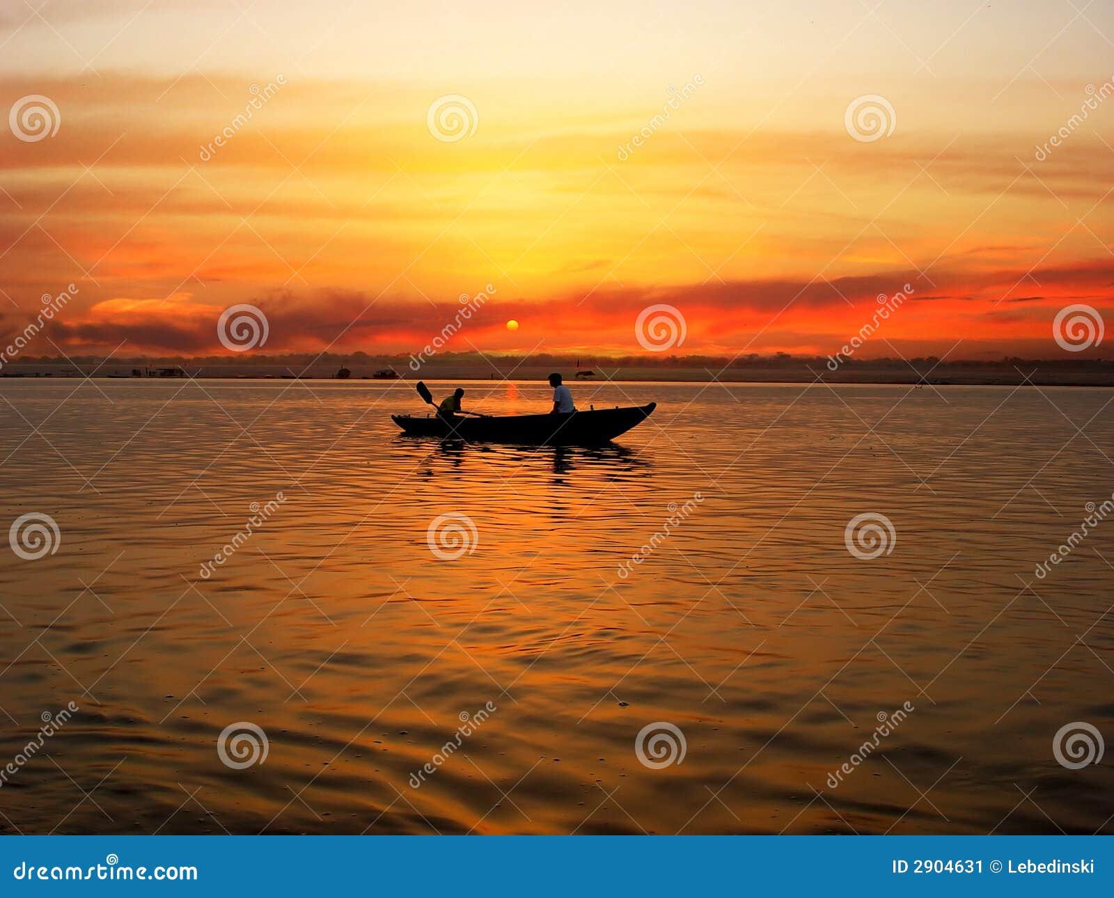 The Ganga River Stock Image - Image: 2904631