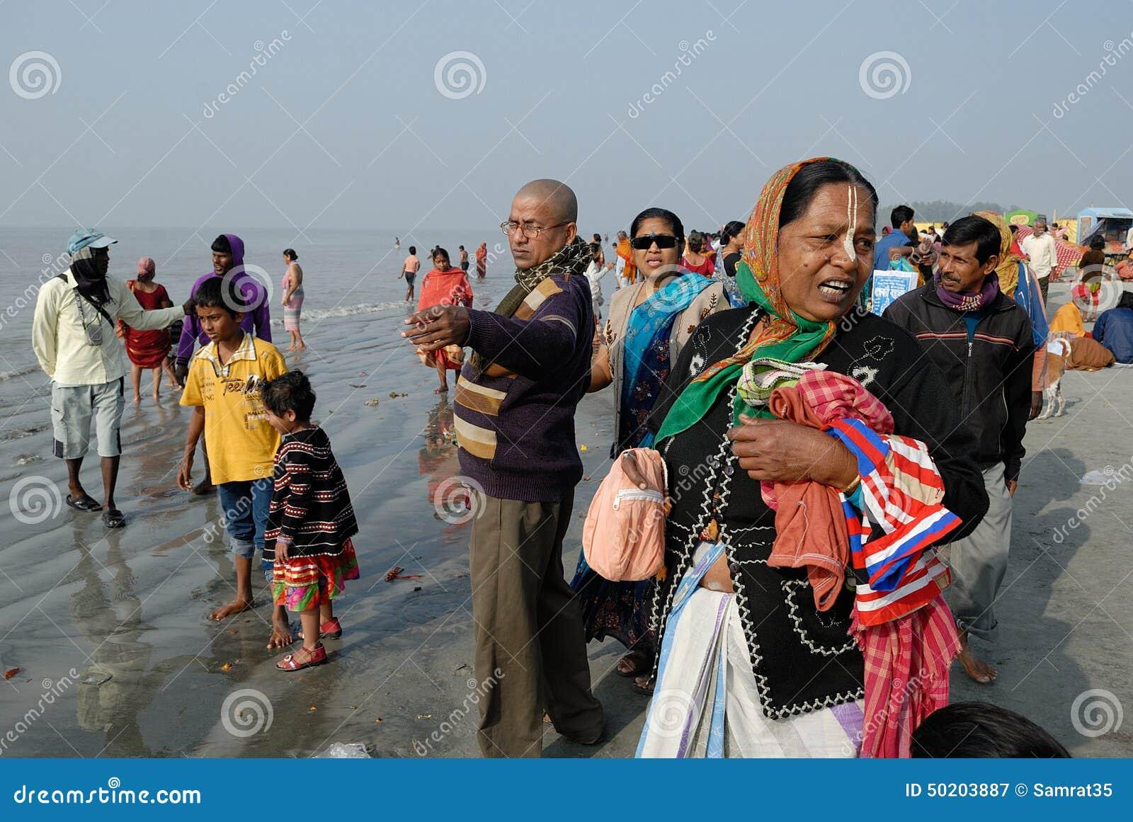 Ganga Sagar Festival in India 63