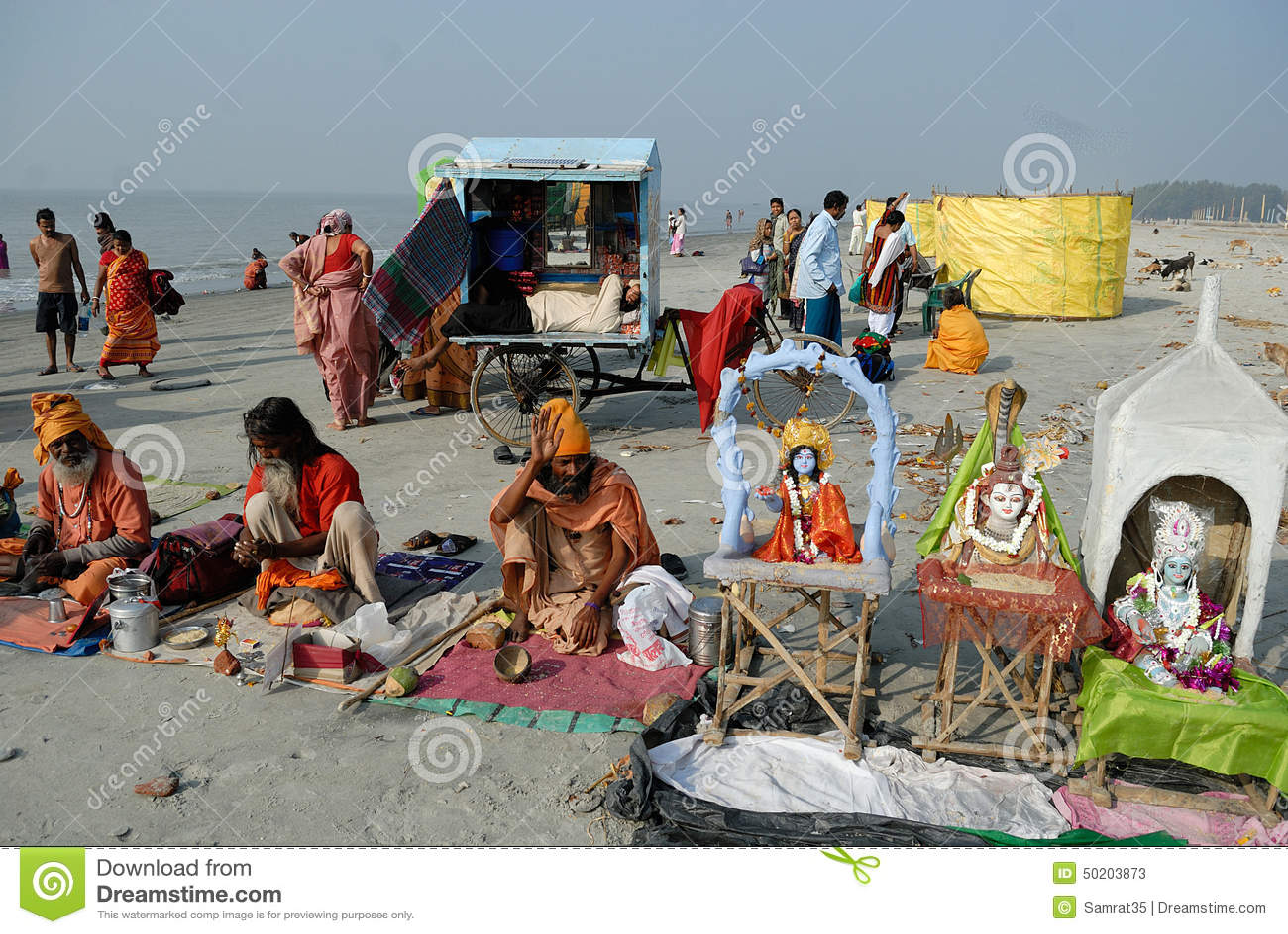Ganga Sagar Festival in India 45
