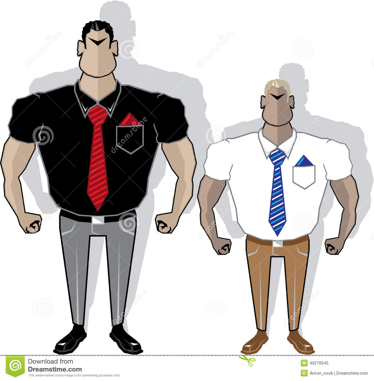 mean boss cartoon stock illustration image  gangster cartoon royalty stock photo