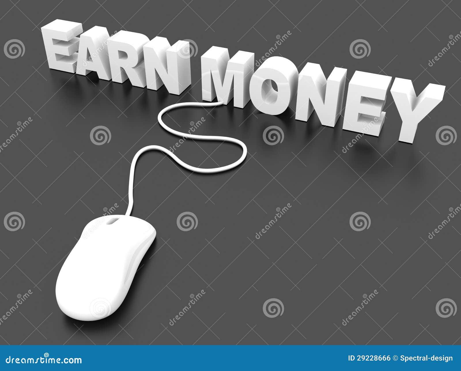 Download Ganhe o dinheiro ilustração stock. Ilustração de conecte - 29228666
