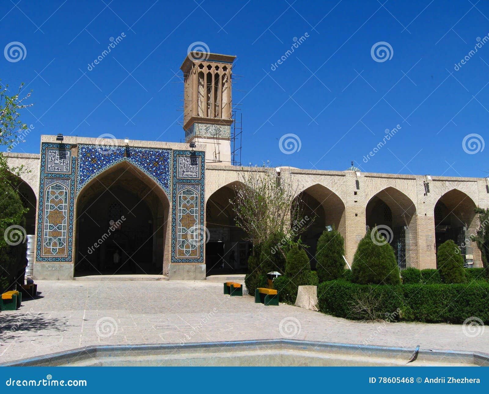 Ganj Ali Khan hammam (bath house) in Kerman, Iran