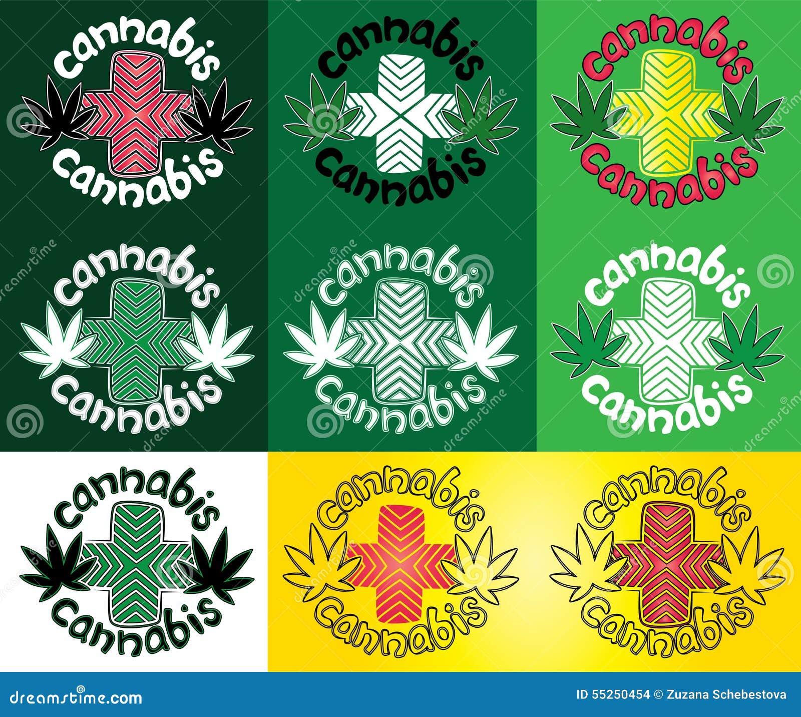 Ganja cannabis marijuana leaf with design cross symbol stamp ganja cannabis marijuana leaf with design cross symbol stamp illustration biocorpaavc