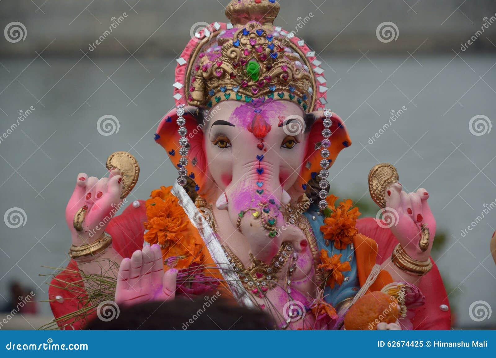 Ganpati Bappa Hindu God Ganpati Royalty Free