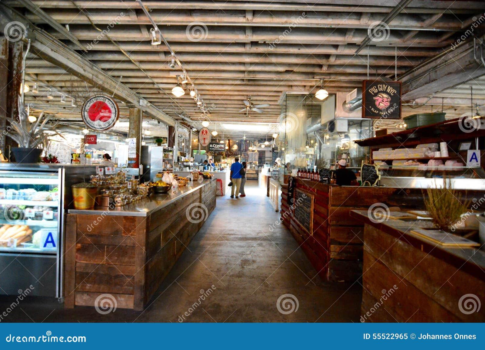 Gansevoort Market gansevoort market editorial image - image: 55522965