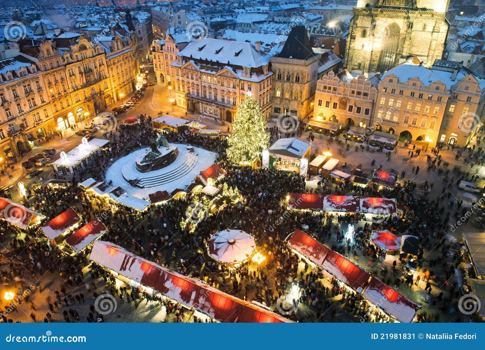 Ganska prague för jul handel