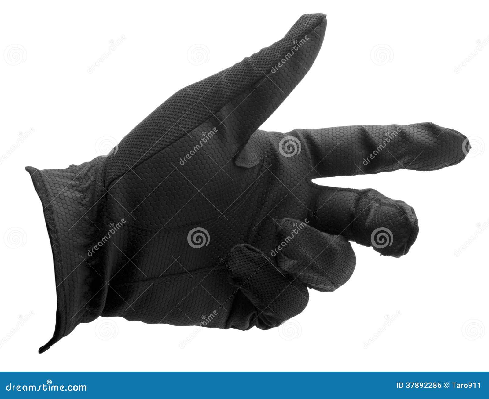 Gant de golf noir