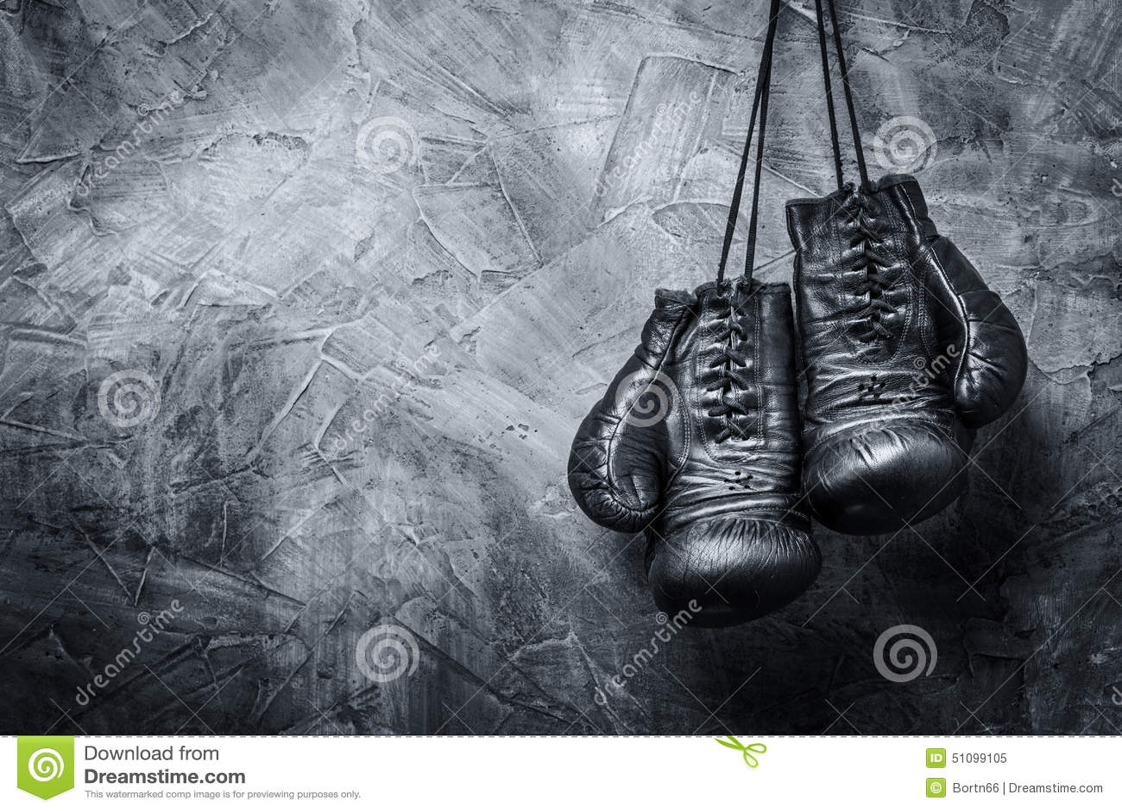 Gants de boxe de cru