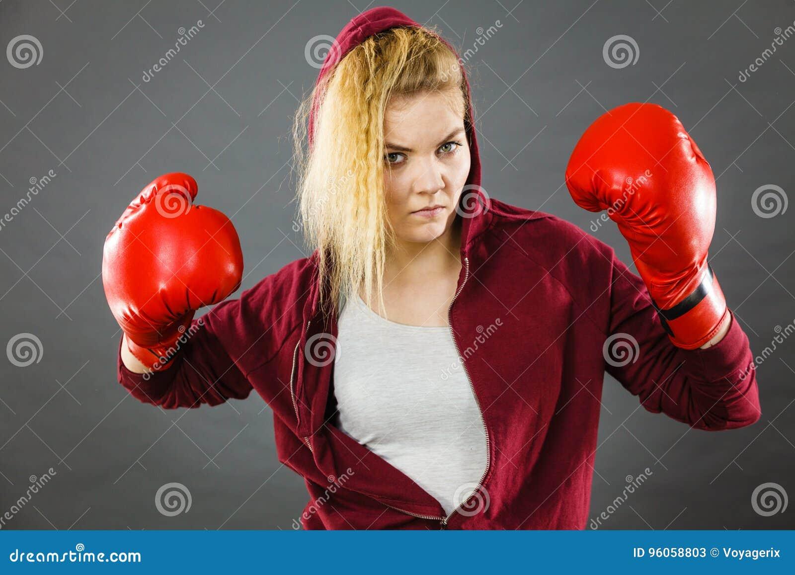 Gants de boxe s usants de femme