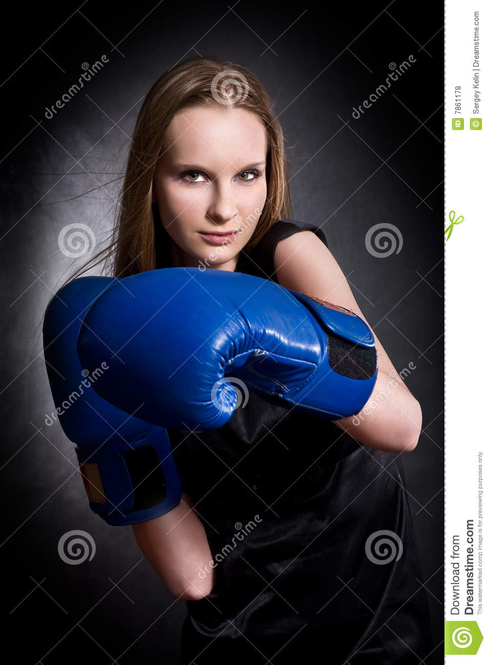 gants de fille de mode de boxe photo stock image du. Black Bedroom Furniture Sets. Home Design Ideas