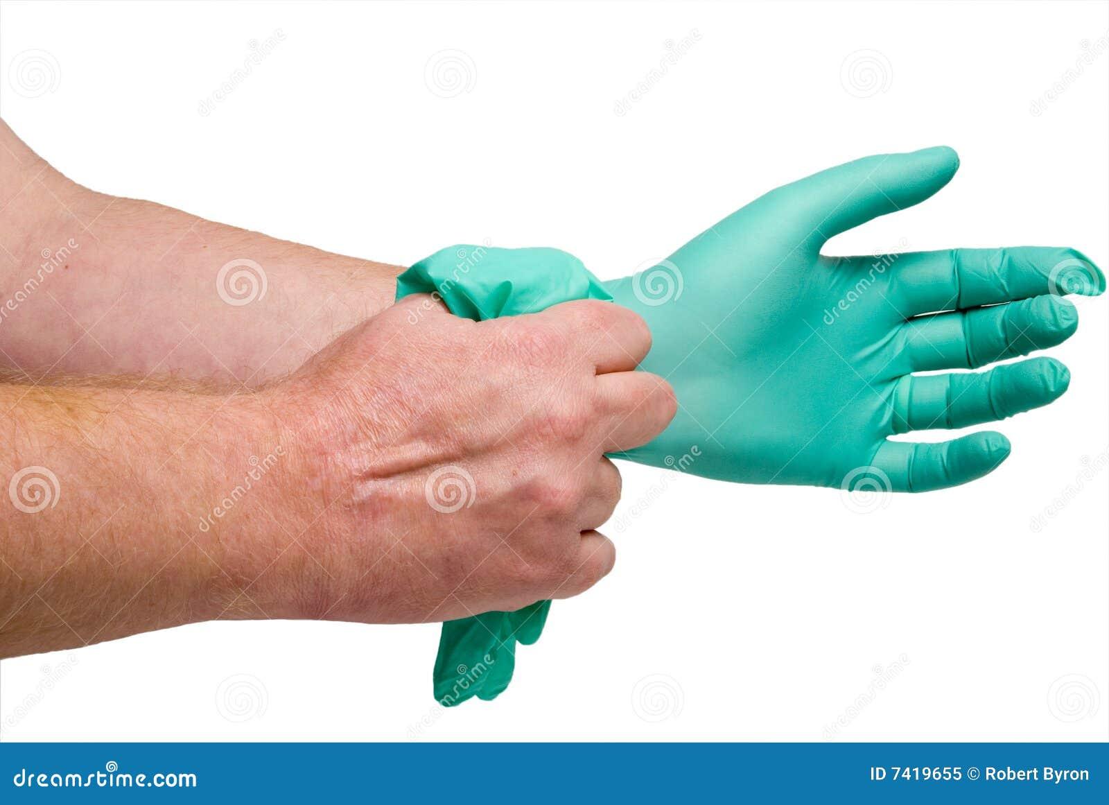 Gants médicaux libres de latex