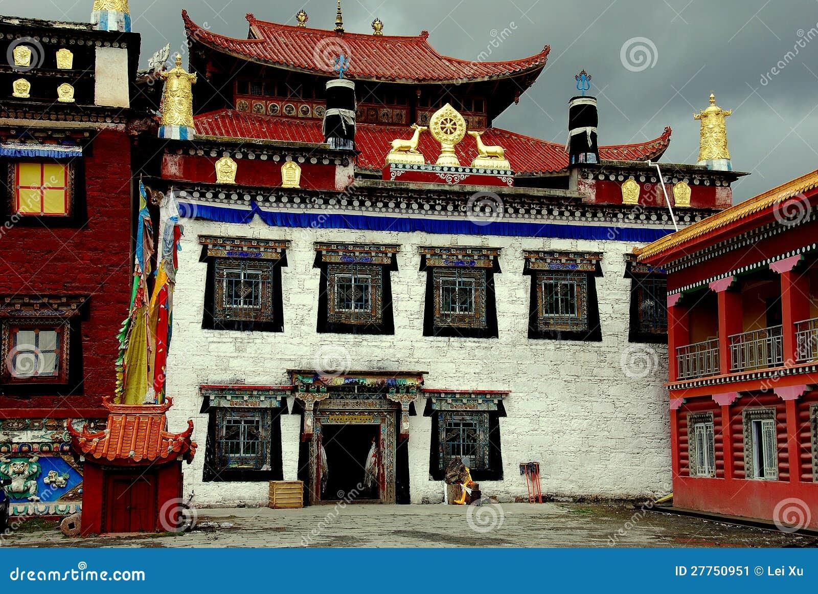 Ganzi China  city photo : Ganzi, China: Ta Gong Tibetan Monastery Editorial Photo Image ...