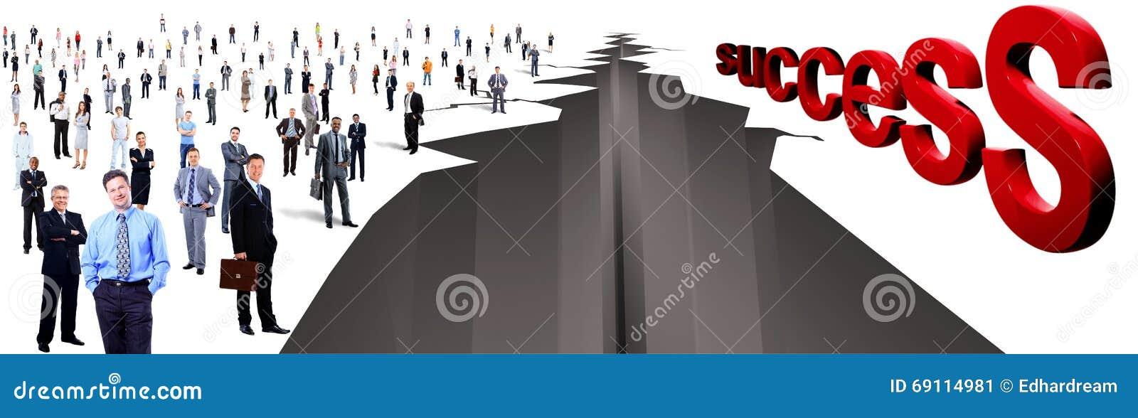 Gap μεταξύ δύο μεγάλης ομάδας ανθρώπων