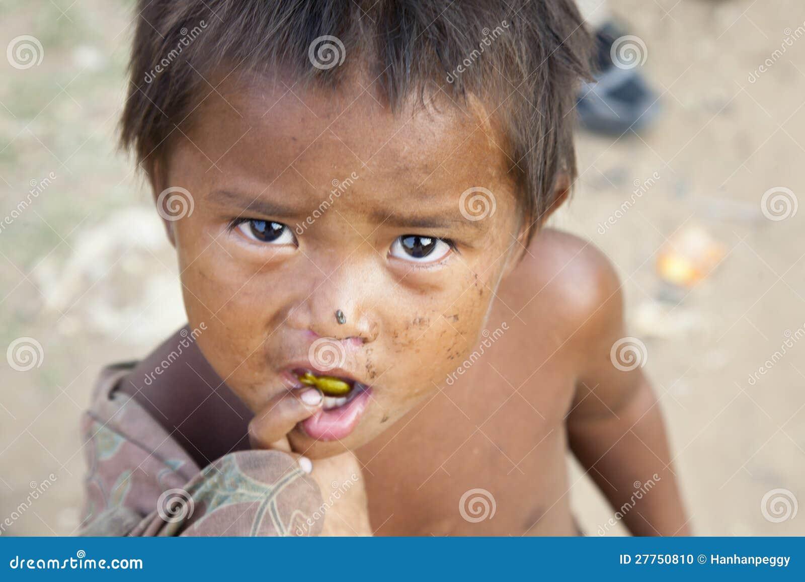 Garçon cambodgien