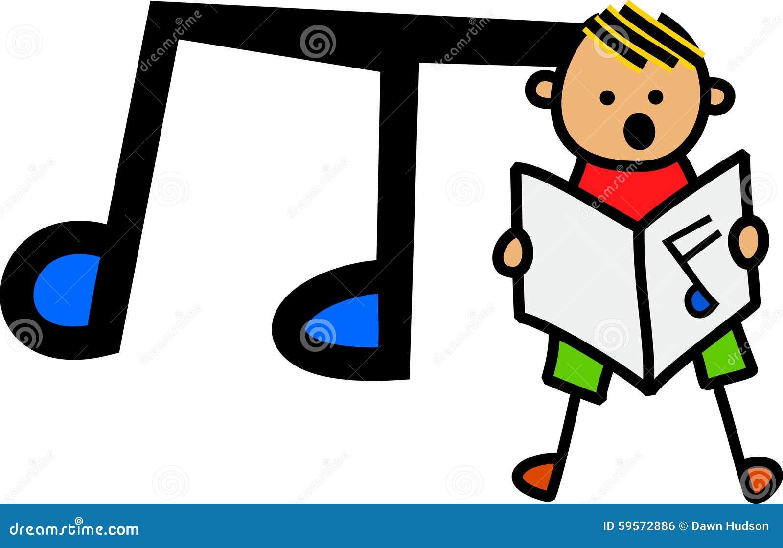 Garçon chanteur