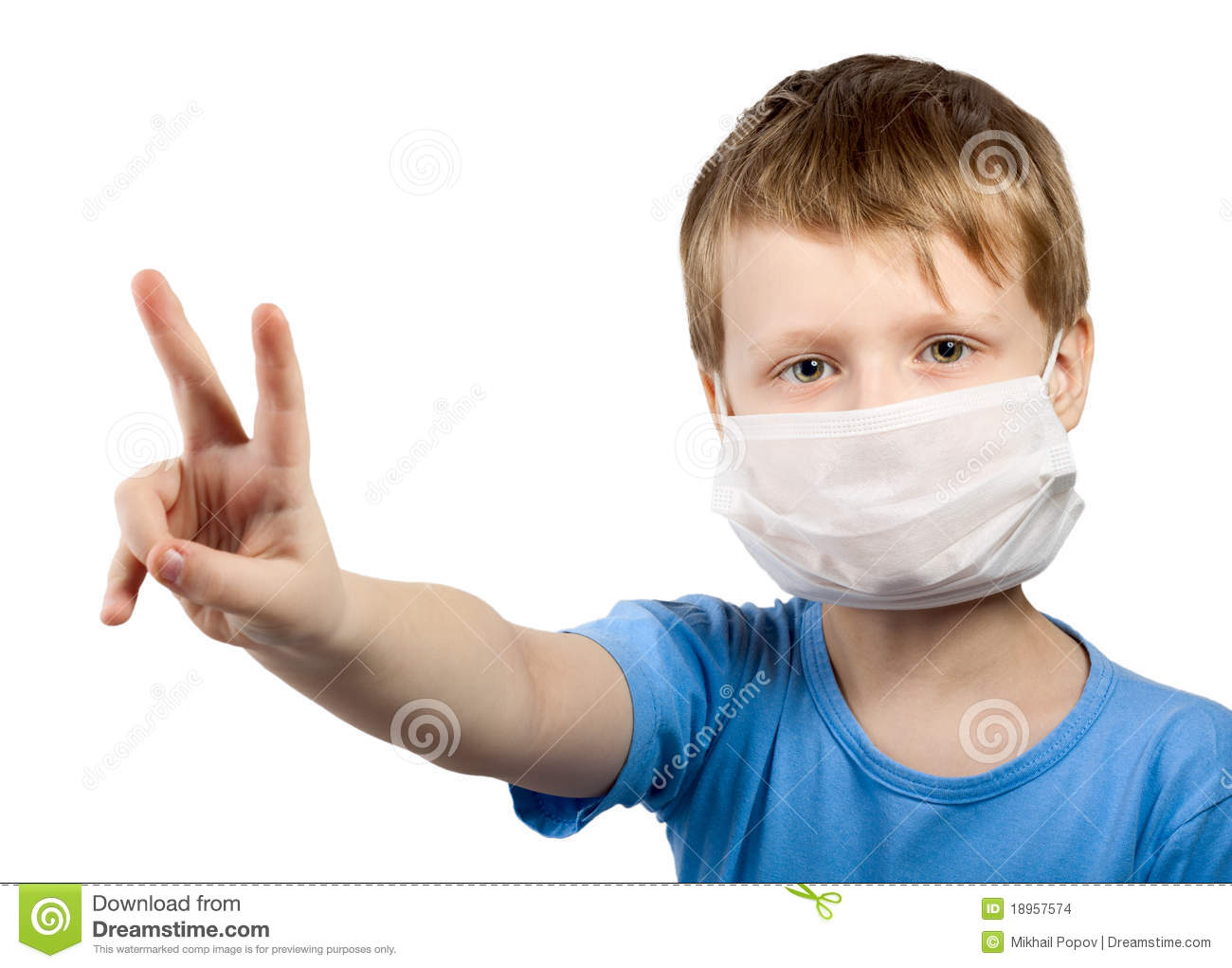 masque chirurgical grippe enfant