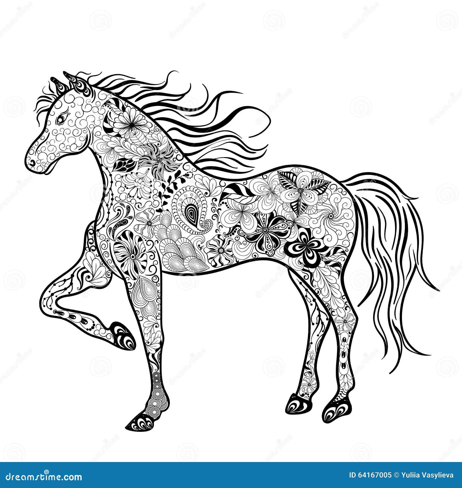 Garabato del caballo