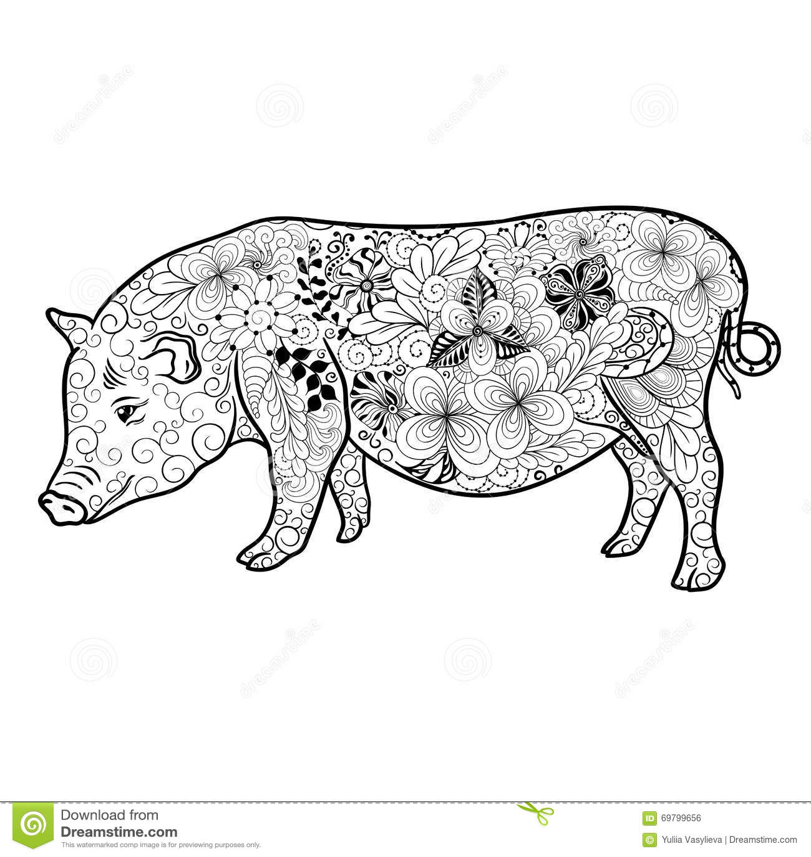 Garabato del cerdo