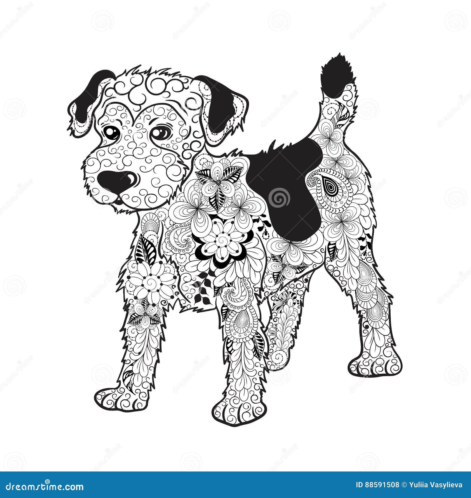 Garabato del perro