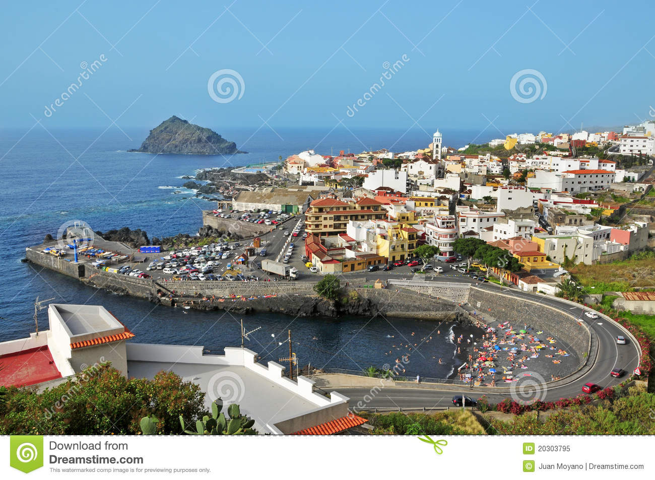 Garachico Spain  City new picture : Garachico, Tenerife, Canary Islands, Spain Royalty Free Stock Photo ...