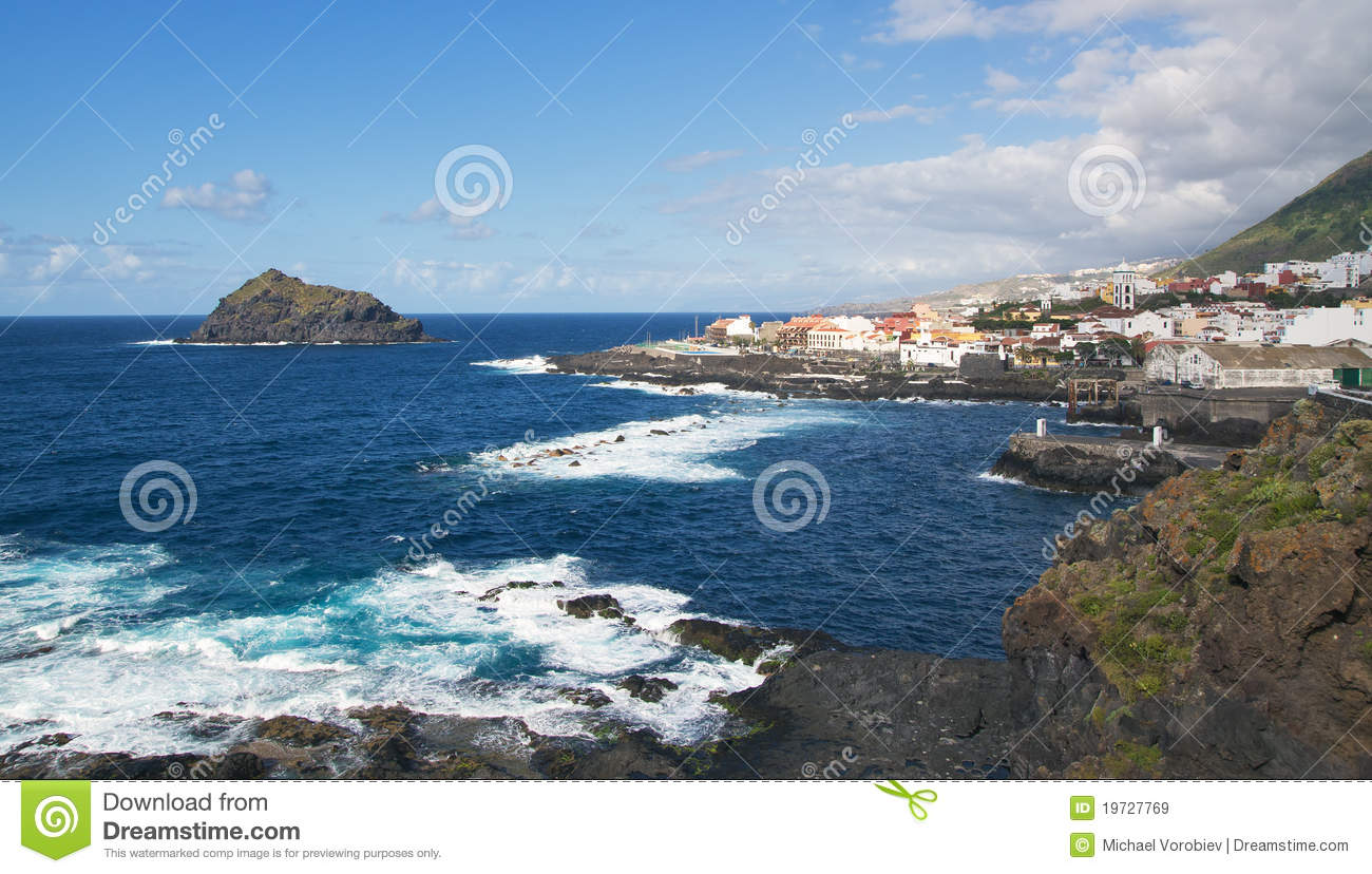 Garachico Spain  city photos : Garachico, Tenerife Island, Spain Royalty Free Stock Images Image ...