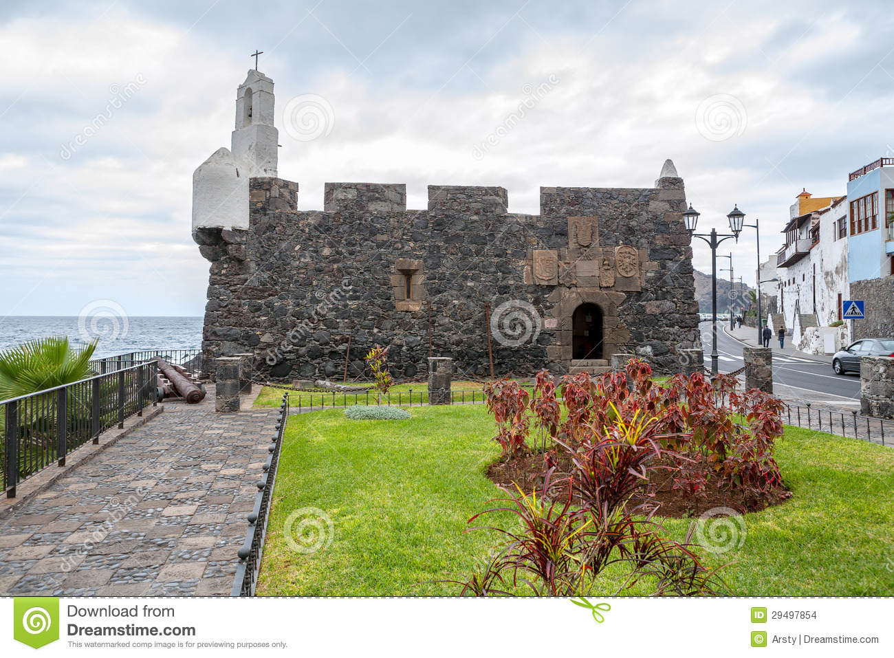 Garachico Spain  City pictures : Castillo de San Miguel, Garachico. Tenerife, Canary Islands, Spain.