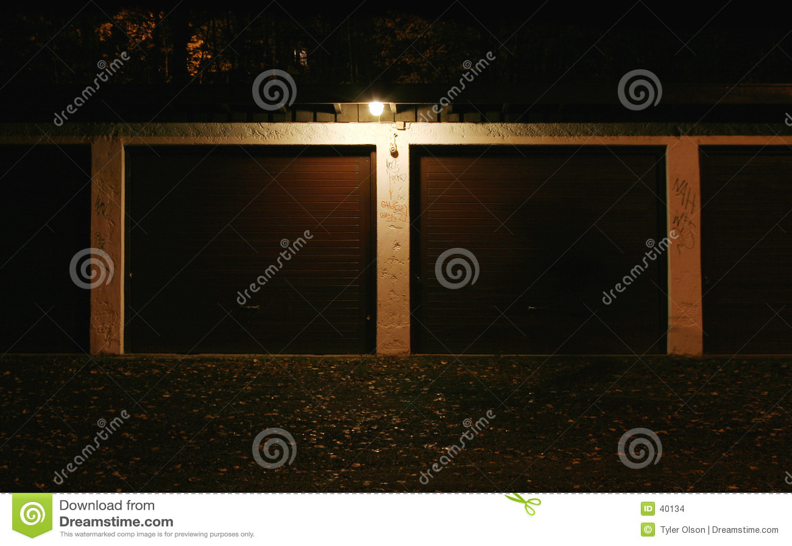 Garage alla notte