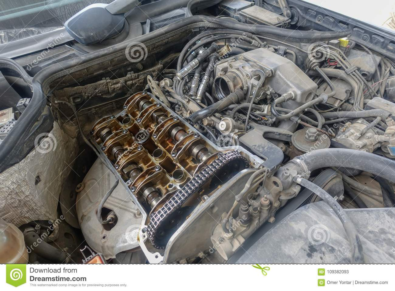 Garage and and car parts stock image. Image of able - 109382093
