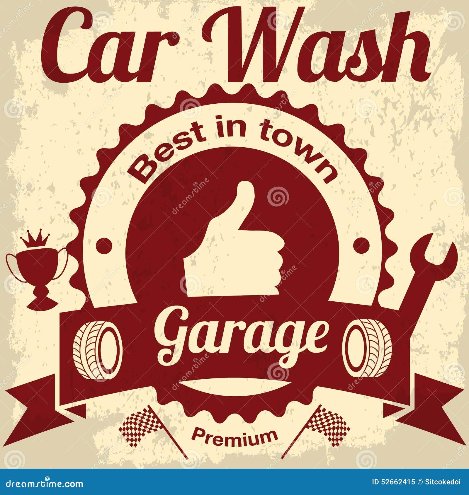 Remarkable, vintage car wash accept. interesting