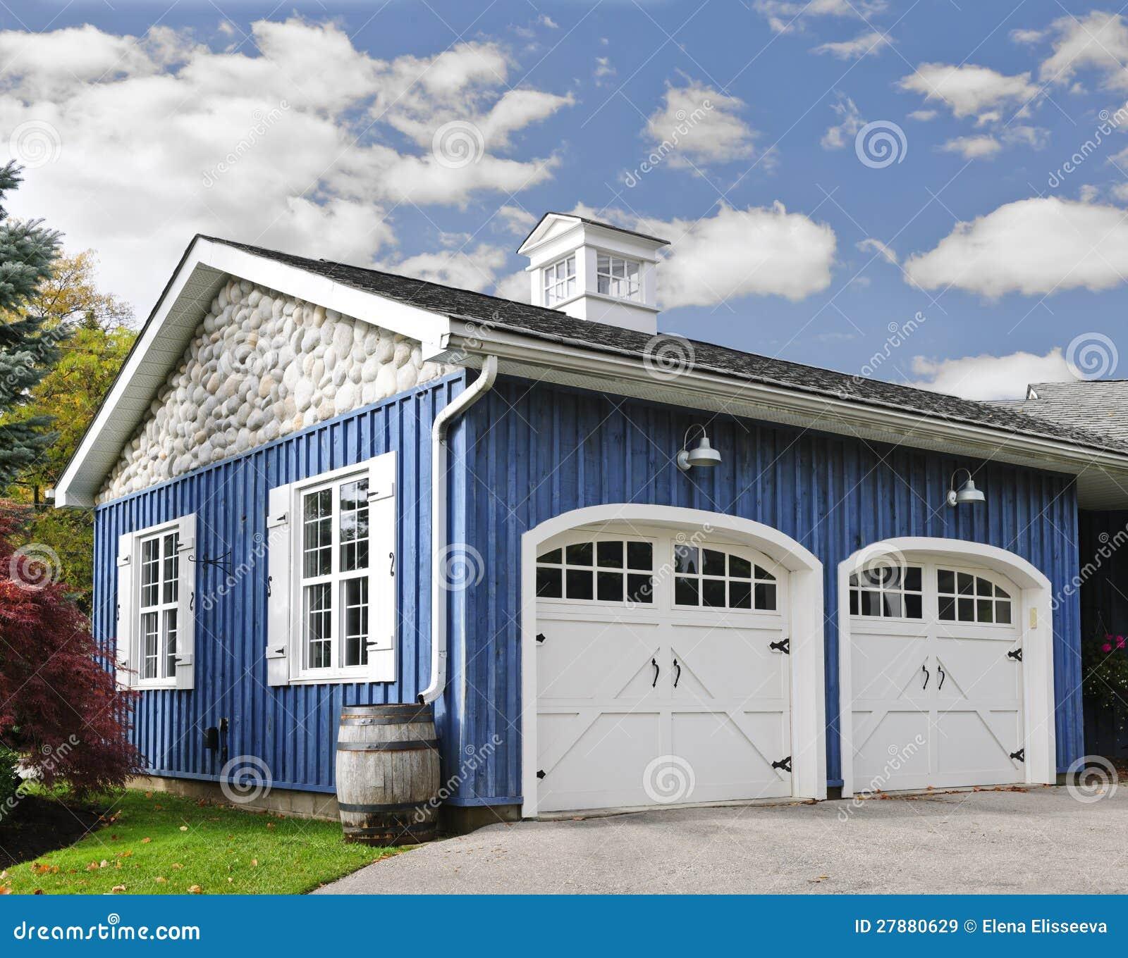 Garage de deux véhicules