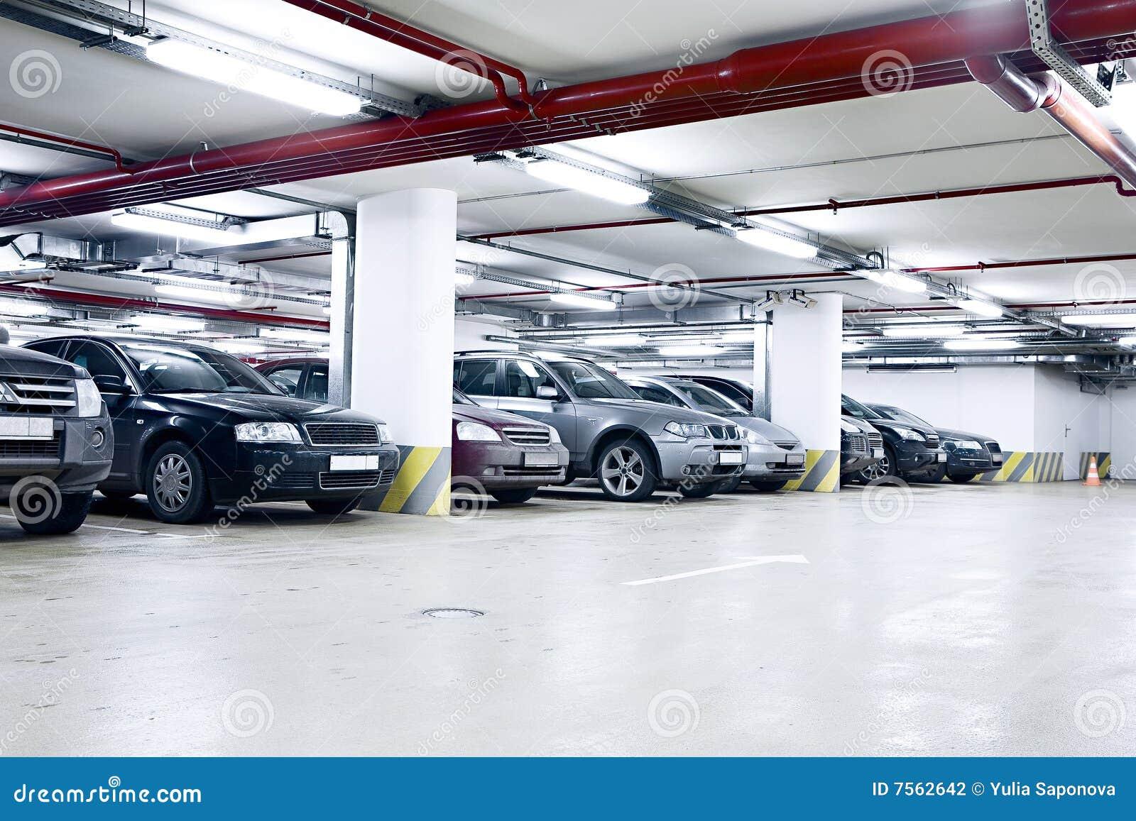 Garage de subterráneo