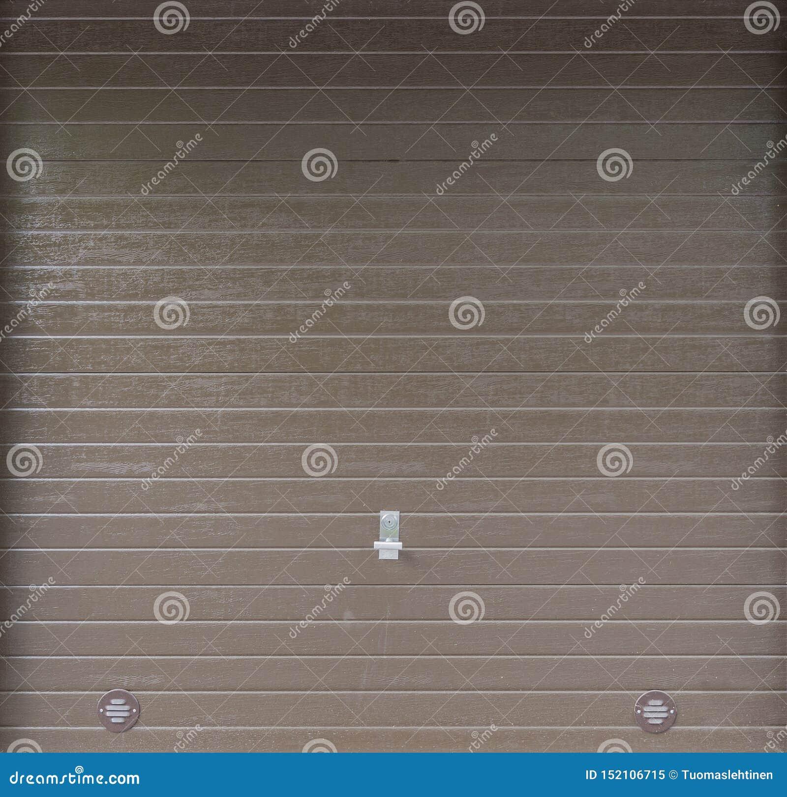 Garage Door Background Stock Image Image Of Metal Closed 152106715