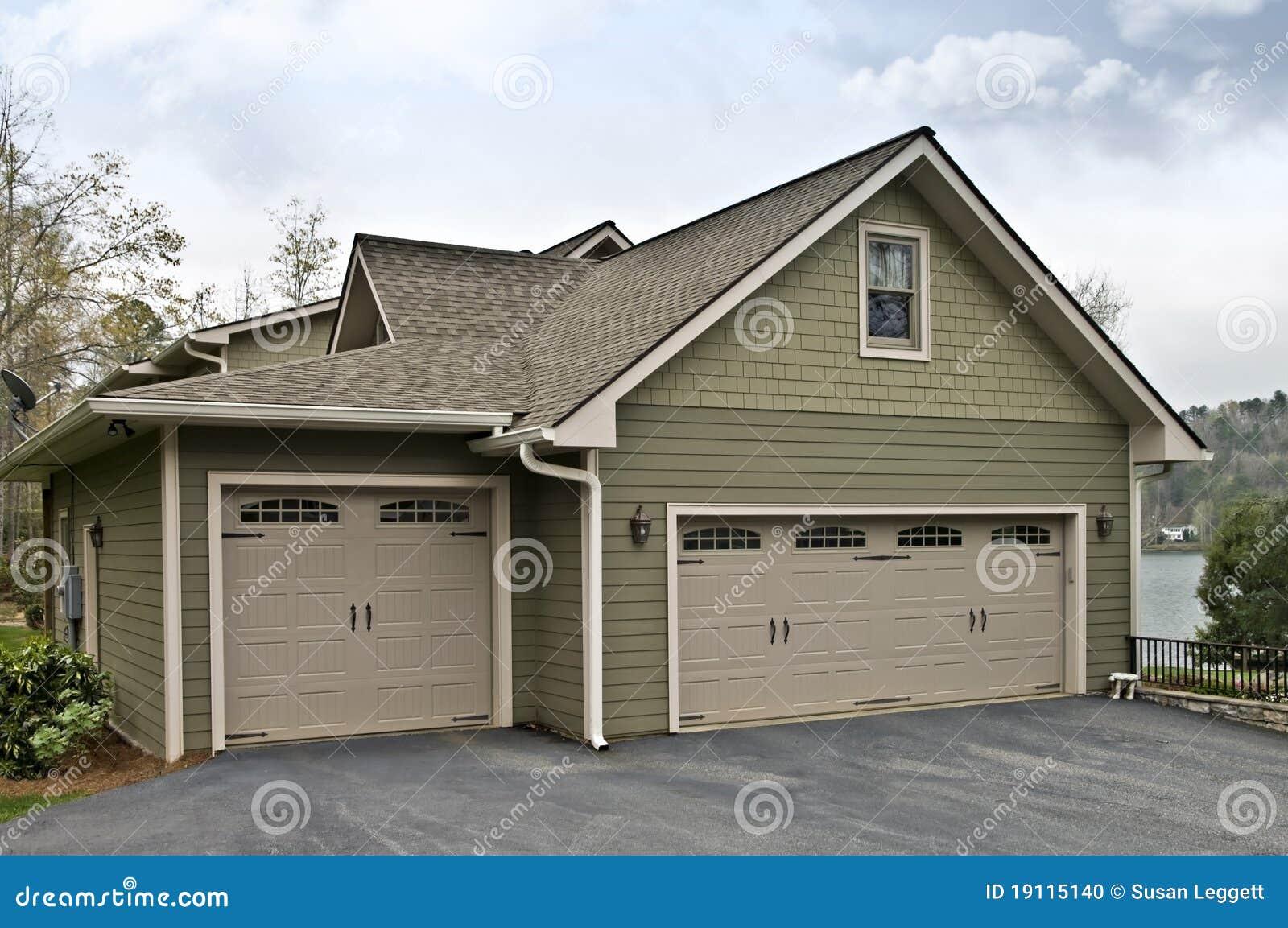 Garage Doors on House