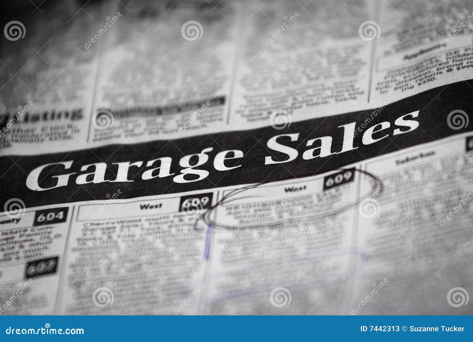 classifieds garage sales escourt