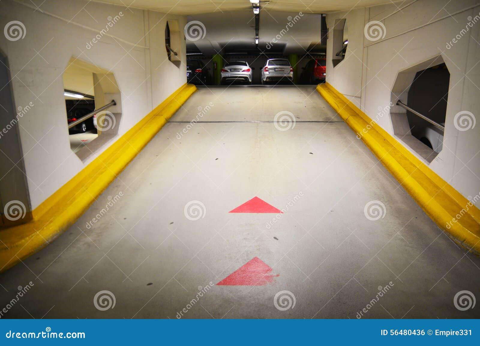 Garage souterrain