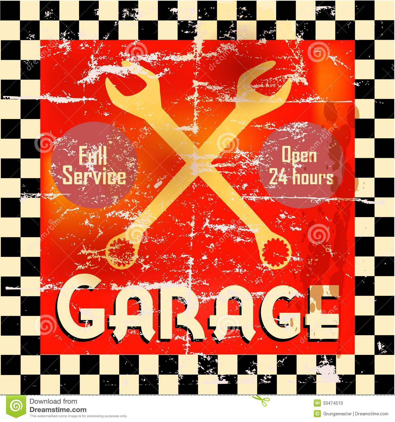 Garage Stock Photo Image 33474510