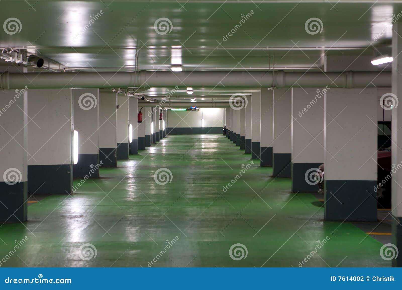 Garagem de estacionamento francesa