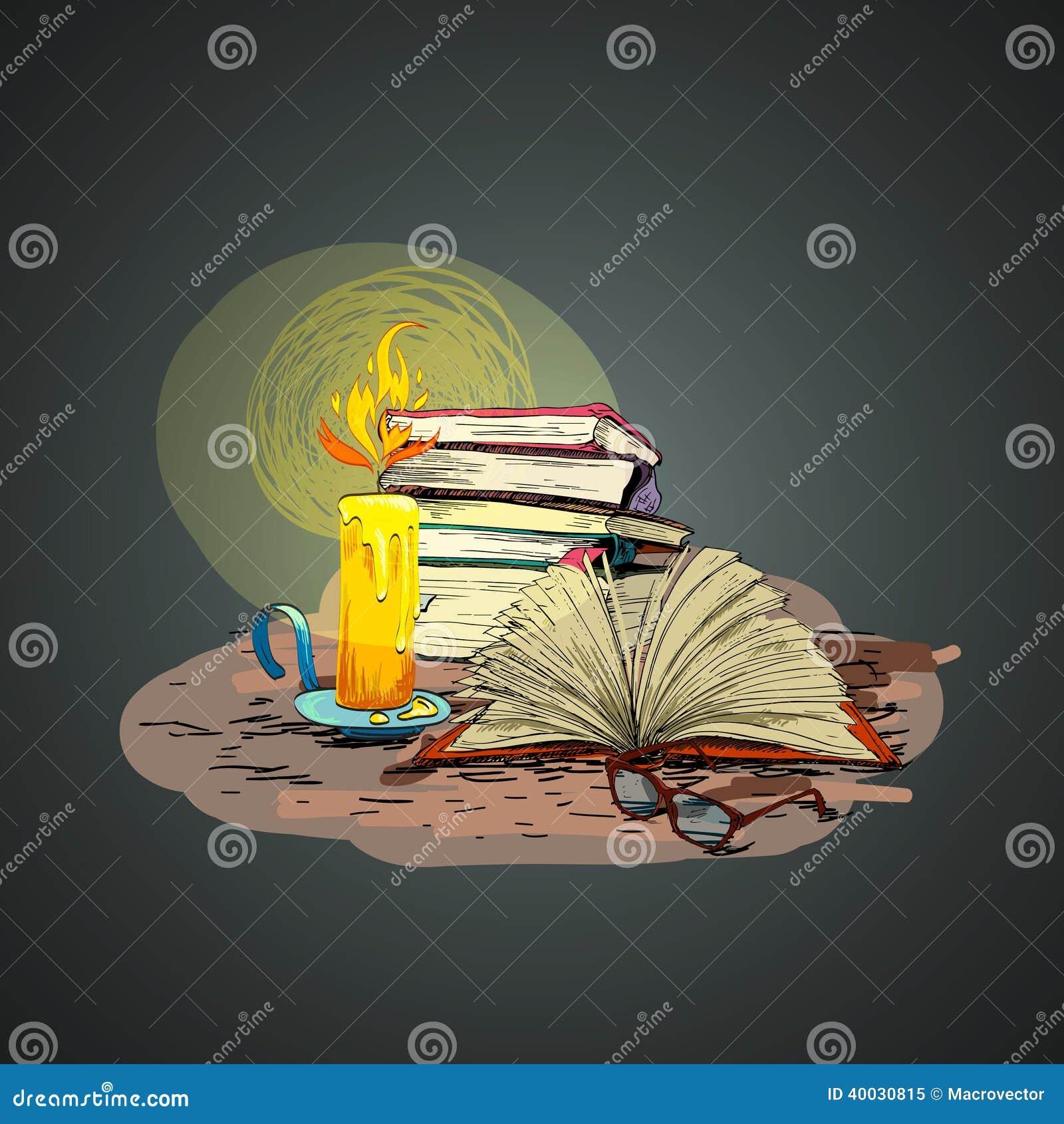Garatuja do livro da vela