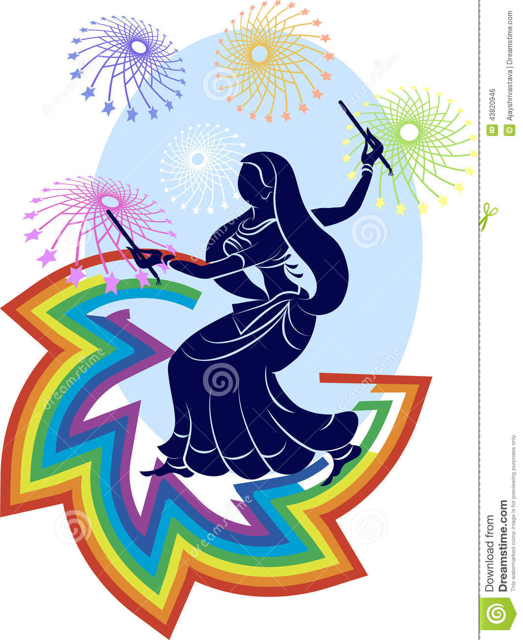 garba  dandia  is an indian dance stock vector image paisley clip art borders paisley clip art free images