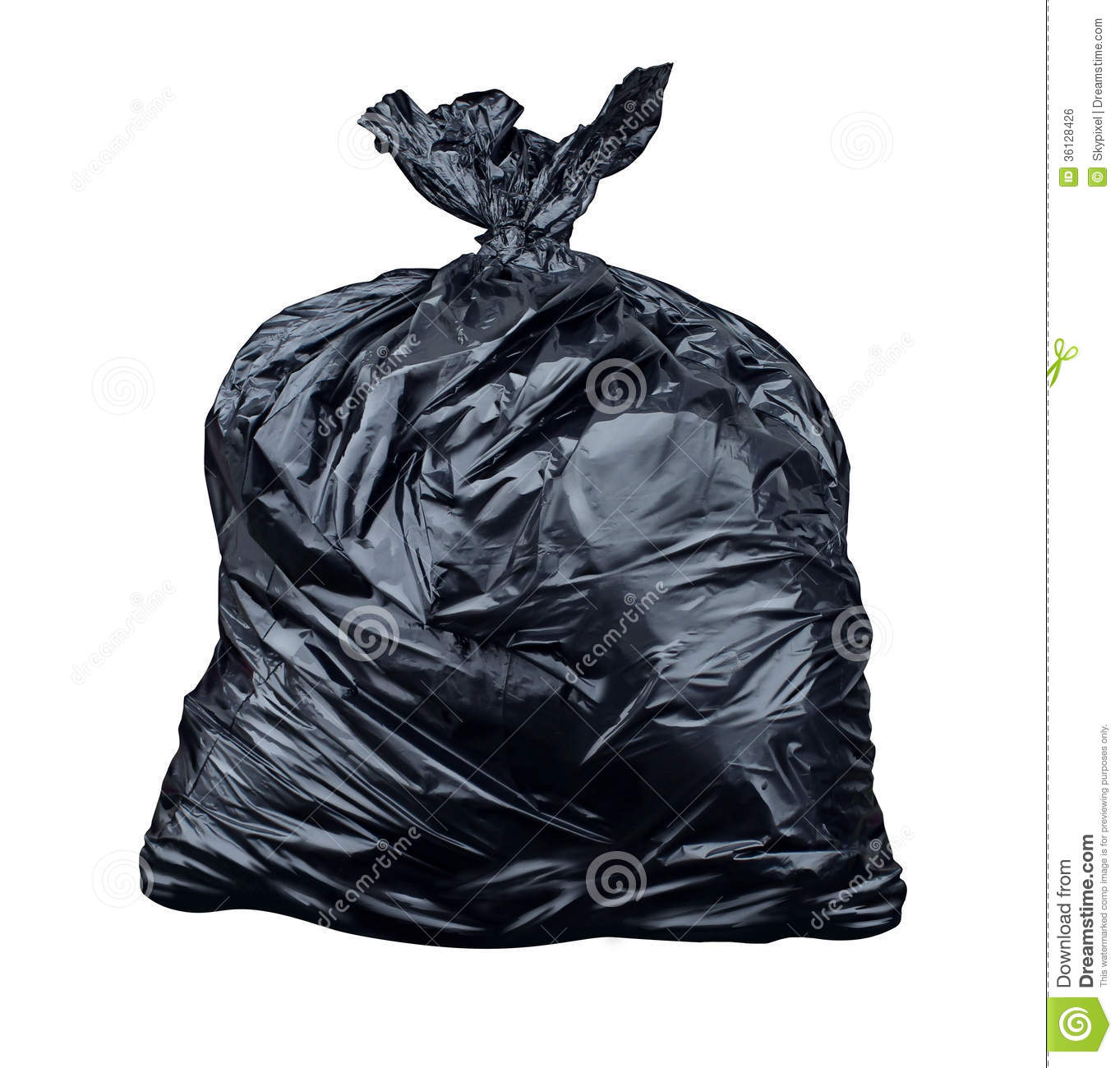 Garbage Bag Stock Photo Image Of Environmental Recycling