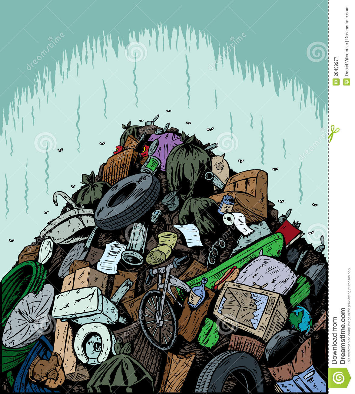 Garbage Dump Royalty Free Stock Photography - Image: 28439277