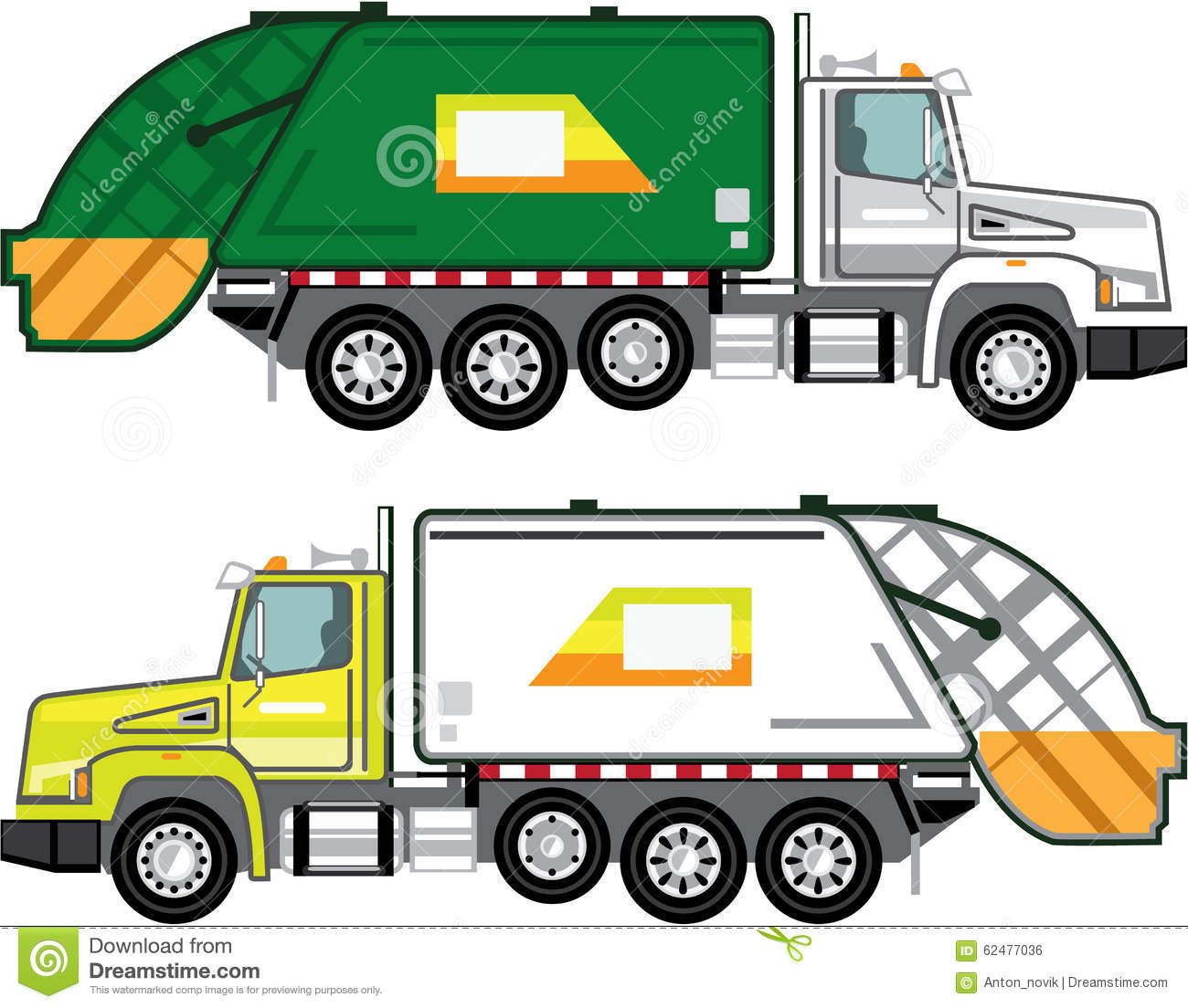 garbage truck file stock vector image of container  dump trash truck clip art trash truck clip art