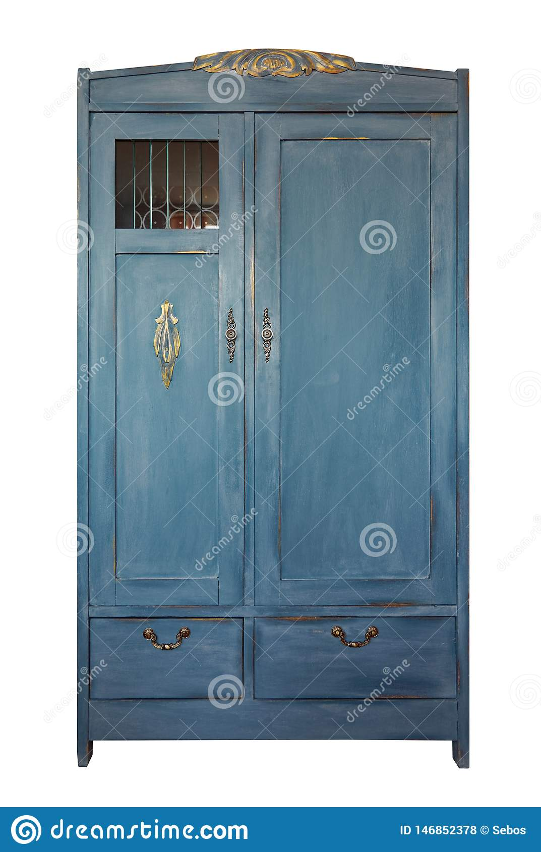 Peindre Un Vieux Meuble En Bois garde-robe de cru, vieux meubles intérieur minable de style